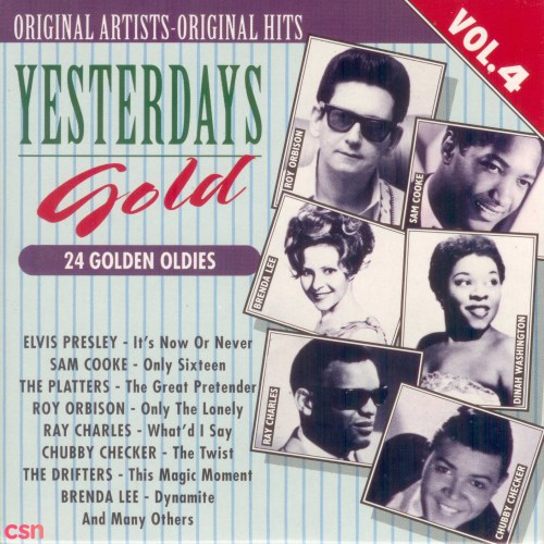 Yesterday's Gold Collection - Golden Oldies Vol. 4