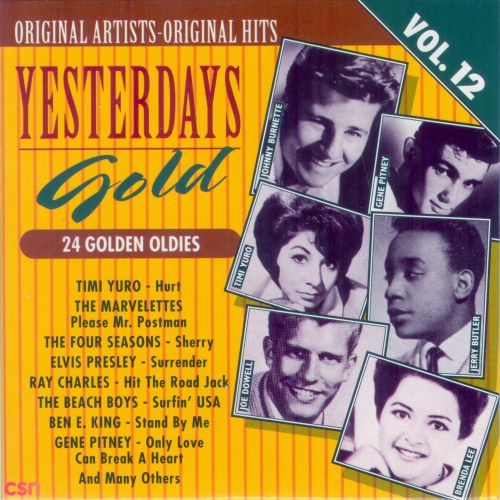 Yesterday's Gold Collection - Golden Oldies Vol. 12