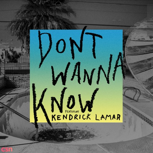 Don't Wanna Know (Single)