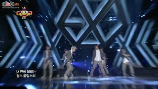 Growl (Show Champion - Comeback Stage - 130807) - EXO