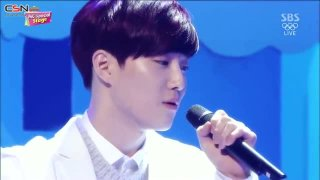 Magic Castle (Inkigayo 140216) - Suho; Baekhyun