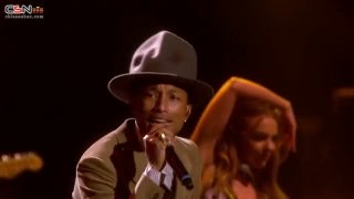 Get Lucky; Good Times; Happy (BRIT Awards 2014) - Pharrell; Nile Rodgers