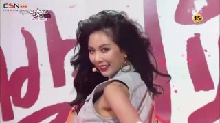 Red (Music Bank - Comeback Stage - 140725) - HyunA