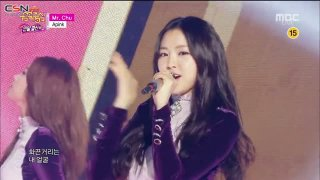 Mr. Chu (Music Core Year-End Special 141227) - A Pink