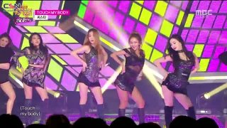 Touch My Body (Music Core Year-End Special 141227) - Sistar