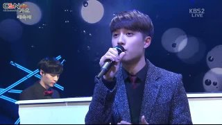 Don't Be Sad (KBS Gayo Daechukje 2014 141226) - Lay; Chanyeol; Baekhyun; D.O