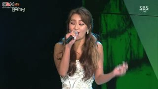 Let It Go (SBS Entertainment Awards 2014 141231) - Hyorin; K-Tigers