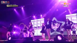 LUV; Mr. Chu (Remix) (150122 2015 Seoul Music Awards) - Apink