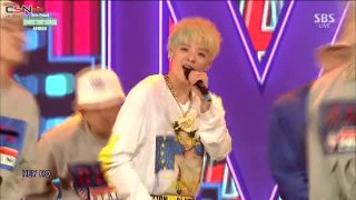 Shake That Brass (Inkigayo Debut Stage 150215) - Amber; Wendy