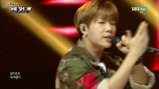 Love Letter; Bad (The Show Comeback Stage 150721) - Infinite