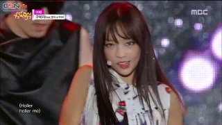 How About Me (Music Core 150801) - Goo Hara; Heo Youngji