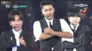 Twins (Knock Out); Sorry Sorry; Devil (M Countdown Feelz In LA 150813) - Super Junior