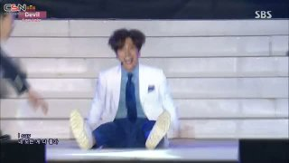 Devil (Inkigayo In Sokcho 150816) - Super Junior