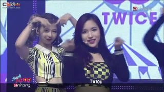 Like Ooh-Ahh (Simply K-pop Debut Stage 151106) - Twice