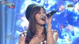 Happy Together (Music Bank Christmas Special Live) - Kim Sung Kyu; Jung Eun Ji