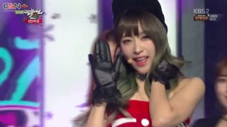 Happy Christmas; Hot Pink (Music Bank Christmas Special Live) - EXID