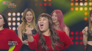 Up & Down; Me Gustas Tu (Parody) (2015 KBS Entertainment Awards Live) - EXID; GFriend; Comedy Artists