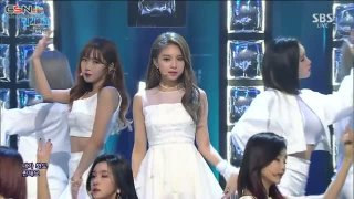 Mirror (Inkigayo Comeback Stage Live) - Fiestar