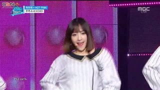 Up & Down; Hot Pink (Music Core 500th Special Live) - EXID; WJSN