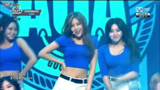 10 Seconds; Good Luck (M Countdown Comeback Stage Live) - AOA