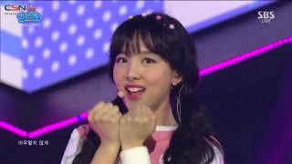 Cheer Up (Inkigayo Goodbye Stage Live) - Twice; Sungjae; Changsub; YooA