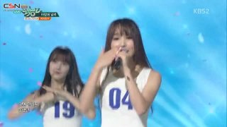 Gone With The Wind; Navillera (Music Bank Comeback Stage Live) - GFriend