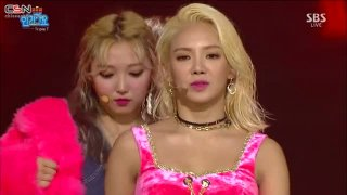 Born To Be Wild (Inkigayo Debut Stage) - Triple T