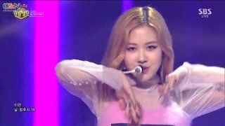 Playing With Fire (Inkigayo Live) - BlackPink