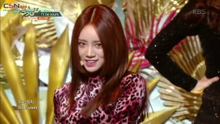 Love Again; I'll Be Yours (Music Bank Comeback Stage Live) - Girl's Day