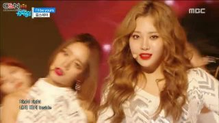 I'll Be Yours (Music Core Live) - Girl's Day