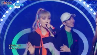 Boy; Night Rather Than Day (Music Core Comeback Stage Live) - EXID
