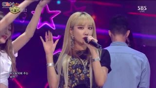 Night Rather Than Day (Inkigayo Live) - EXID