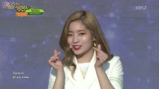 Signal; Cheer Up; TT; Knock Knock (Music Bank Comeback Stage Live) - Twice