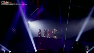 BOOMBAYAH + PLAYING WITH FIRE (M-ON! LIVE BLACKPINK PREMIUM DEBUT SHOWCASE 2017.07.20) - BLACKPINK