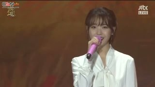 Autumn Morning; Through The Night; Can't Love You Anymore (32nd Golden Disk Awards Live) - IU; Oh Hyuk