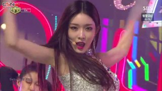 Offset; Roller Coaster (Inkigayo Comeback Stage Live) - Chung Ha