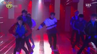 Boss; Baby Don't Stop (SBS Inkigayo Live) - NCT U