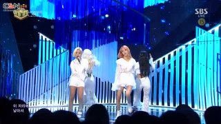 Starry Night (SBS Inkigayo Live) - Mamamoo
