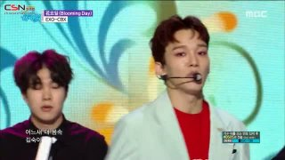 Blooming Day (Music Core Live) - EXO-CBX
