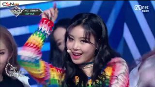 Intro; Latata (180503 Mnet M! Count Down Debut Stage Live) - (G)I-DLE