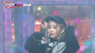 Latata (Show Champion Debut Stage Live) - (G)I-DLE