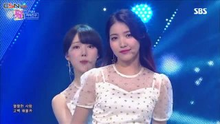 Bam (밤) (Time For The Moon Night) (Inkigayo 2018.05.13) - GFRIEND