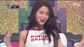 Super Duper; Bingle Bangle (M Countdown Comeback Stage Live) - AOA