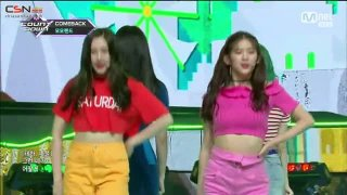 Only One You; Baam (180628 MCD Live) - Momoland