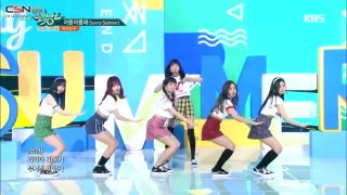 Sunny Summer (Music Bank 20.07.2018) - GFRIEND