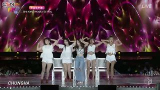 Love U (2018 Korea Music Festival Day 2 02.08.2018) - Chungha
