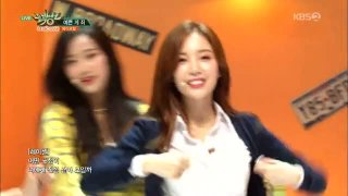 Oh-Eh-Oh; Oh! My Mistake (Music Bank Live) - April