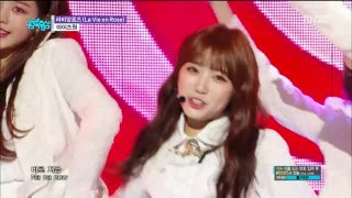 La Vie En Rose (Music Core Debut Stage) - IZ*ONE