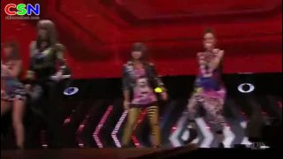 Intro; Fire (2Ne1 1St Japan Tour ~ Nolza ~) - 2NE1