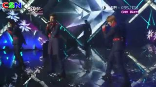 She Is Gone (100812 Comeback Stage Music Bank) - Supernova; Cho Shin Sung